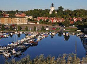 Sötsjöbaden Åmål inre hamnen